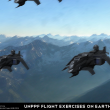 UNPPF Flight Exercises on Earth - Technical Specifical View