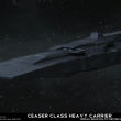 Caesar Class Heavy Carrier by Anton Cherevan
