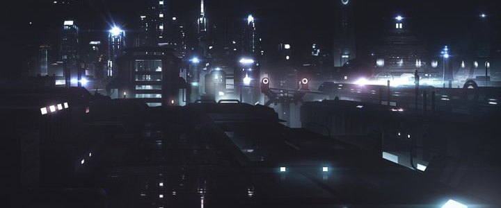 Imyt by Night Matte Painting by James Ledger