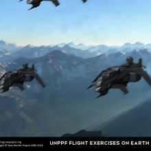 UNPPF-Flight-Exercises-on-Earth-Poster-18x12